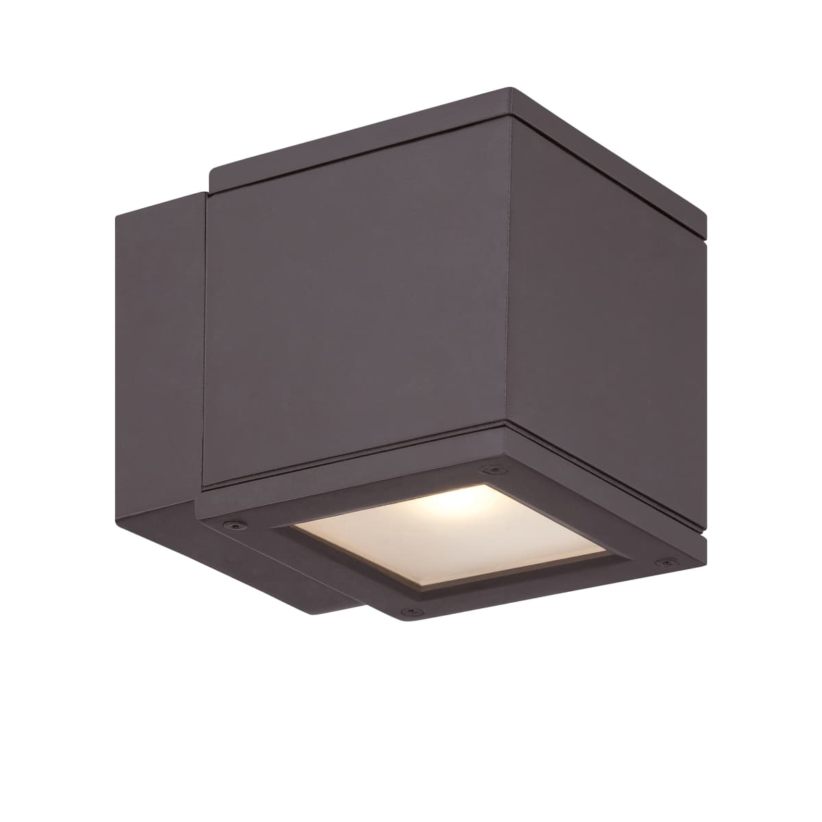 WS-W2505-BZ Bronze WAC Lighting Rubix Energy Star LED Up and Down Wall Light