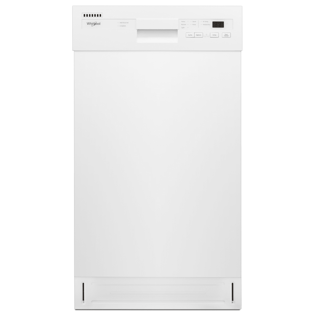 Whirlpool 18 Inch Wide 8 Place Setting Energy Star Rated Built-In Fully Integrated Dishwasher