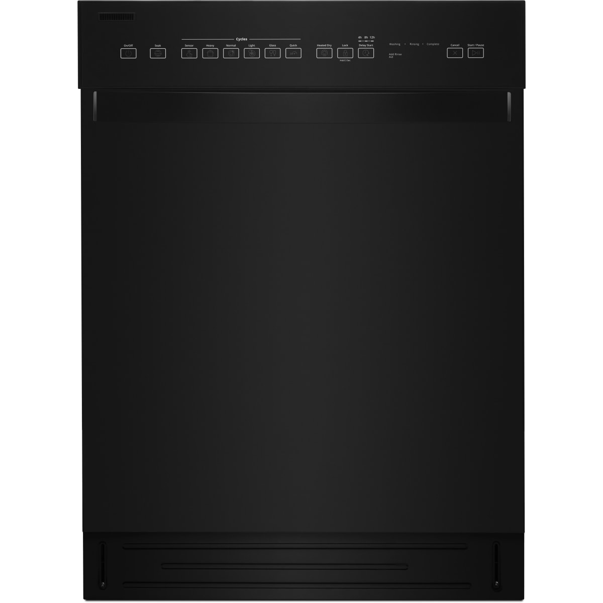 Whirlpool 24 Inch Wide 12 Place Setting Energy Star Rated Built-In Fully Integrated Dishwasher
