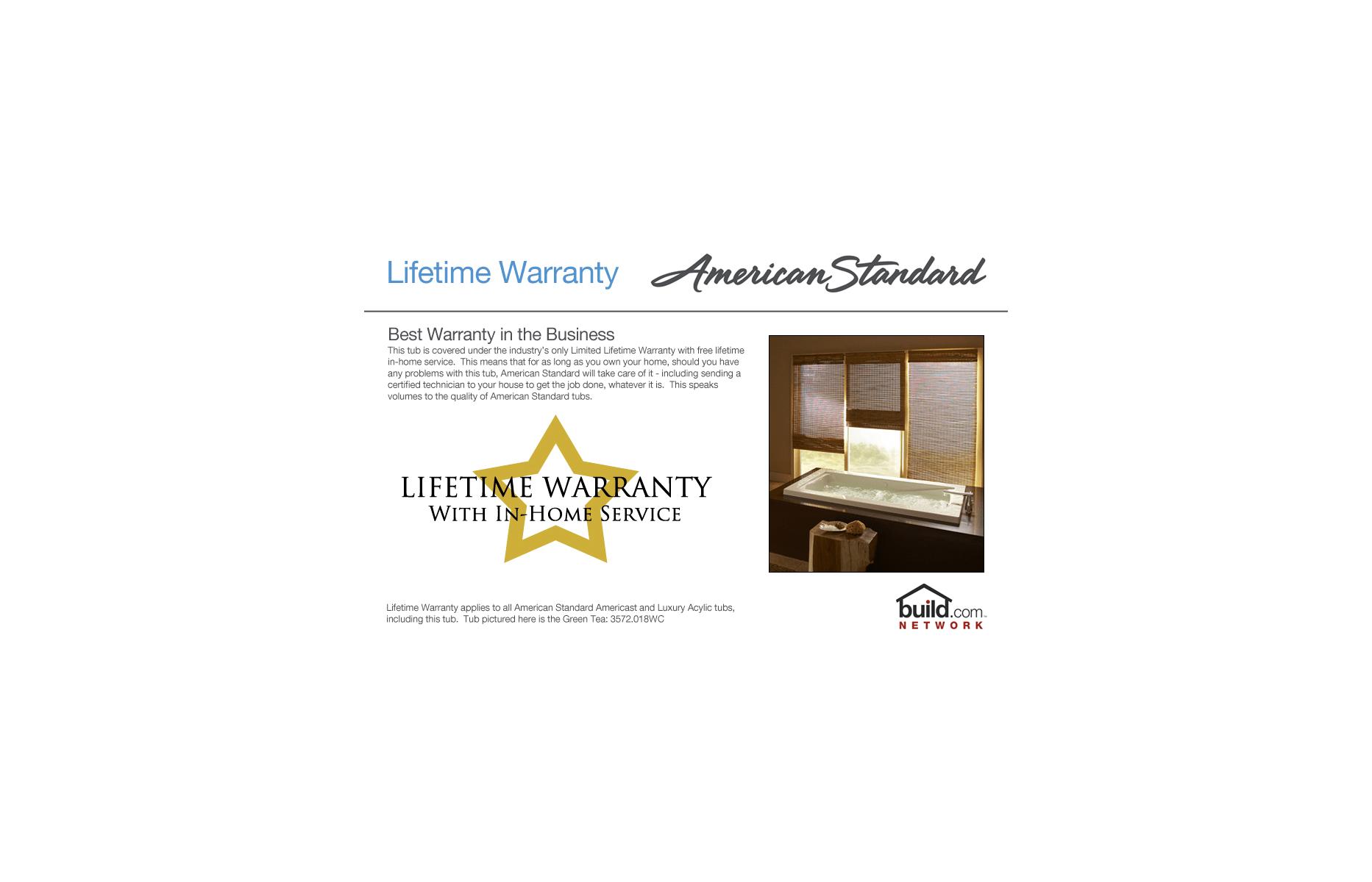 American Standard undefined Warm White Princeton 60\