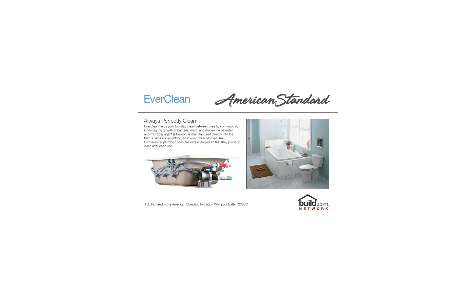 American Standard 7236.VC.020 White Evolution 72\