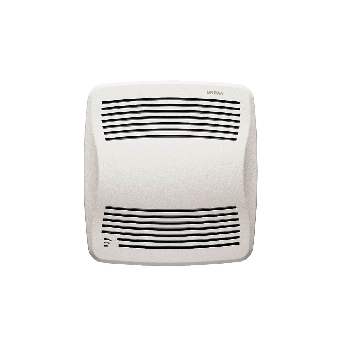 110 cfm 0 7 sone ceiling mounted energy star rated and hvi certified bath  fan with humidity sensor from the qt collection