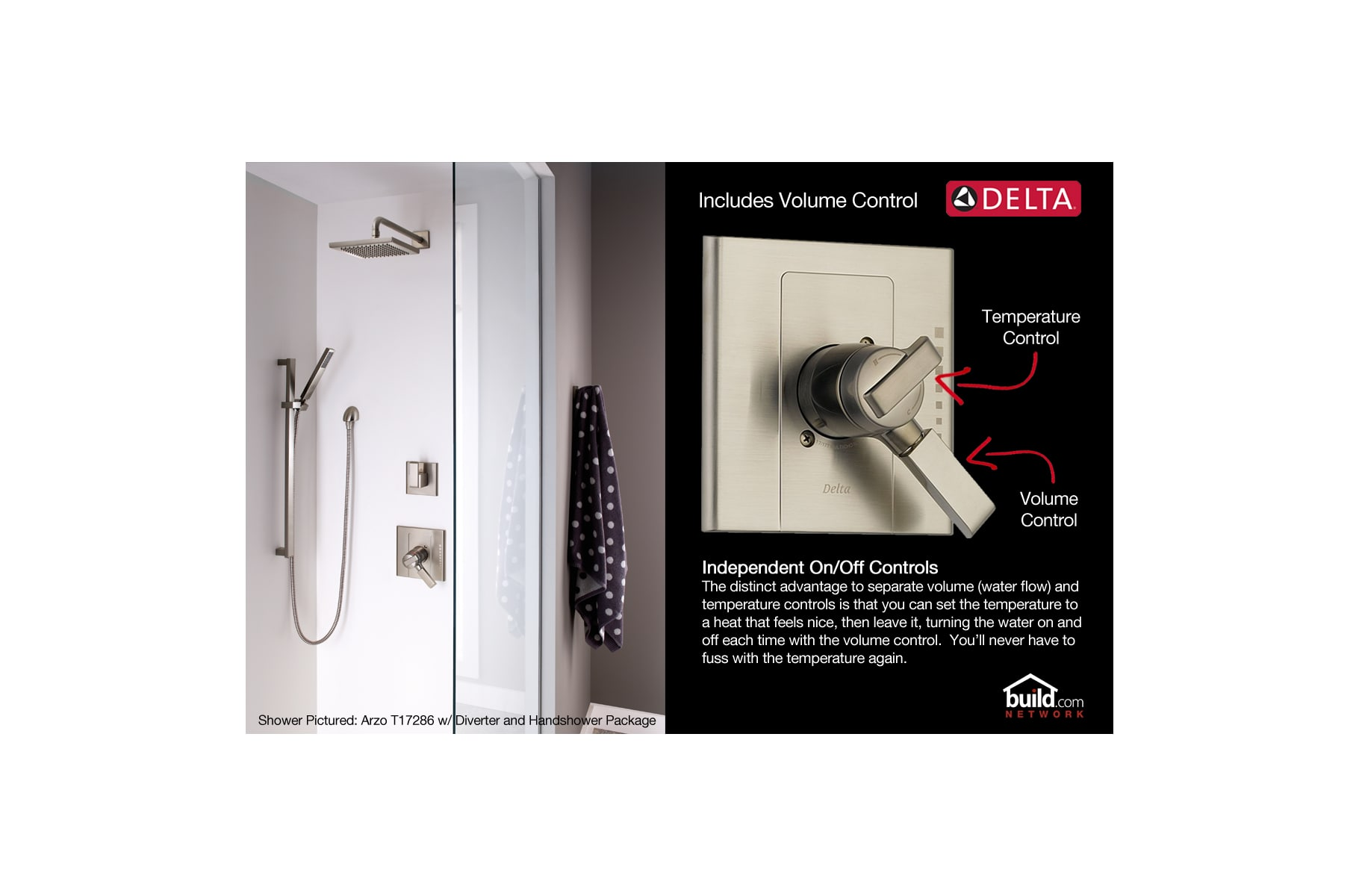 Delta 174924 Polished Chrome Yorkshire Monitor 17 Series Dual ...