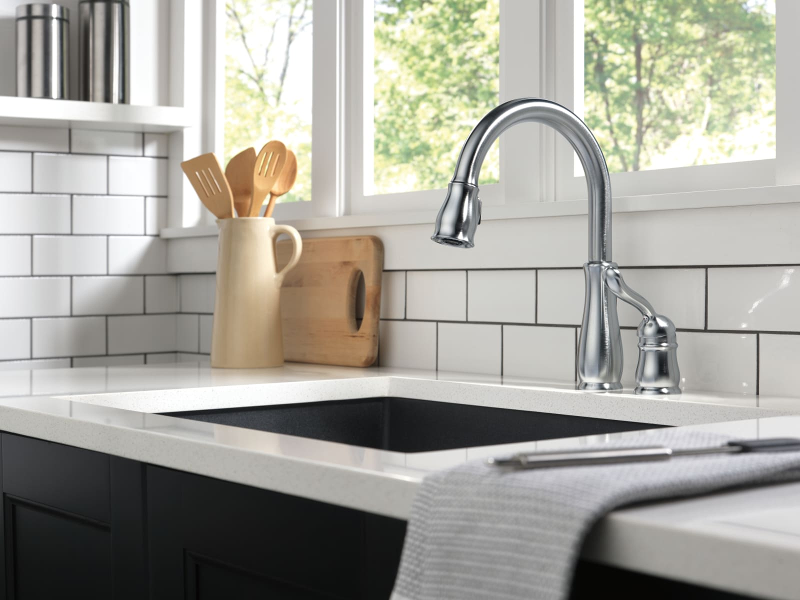 Delta 978 Rb Dst Venetian Bronze Leland Pull Down Kitchen Faucet With Magnetic Docking Spray Head Includes Lifetime Warranty Faucet Com