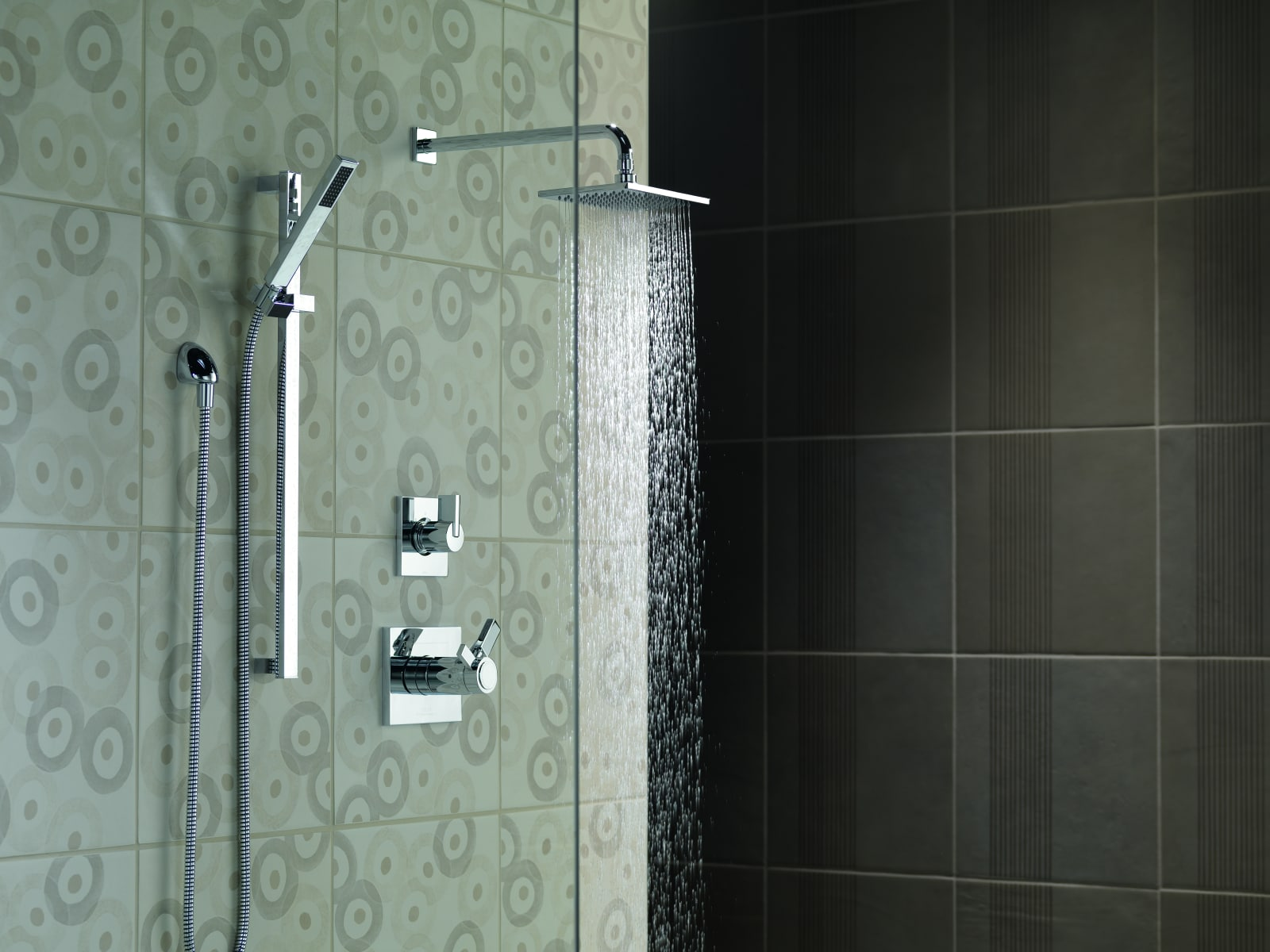 Delta Vero TempAssure Shower Package CZ Champagne Bronze with ...