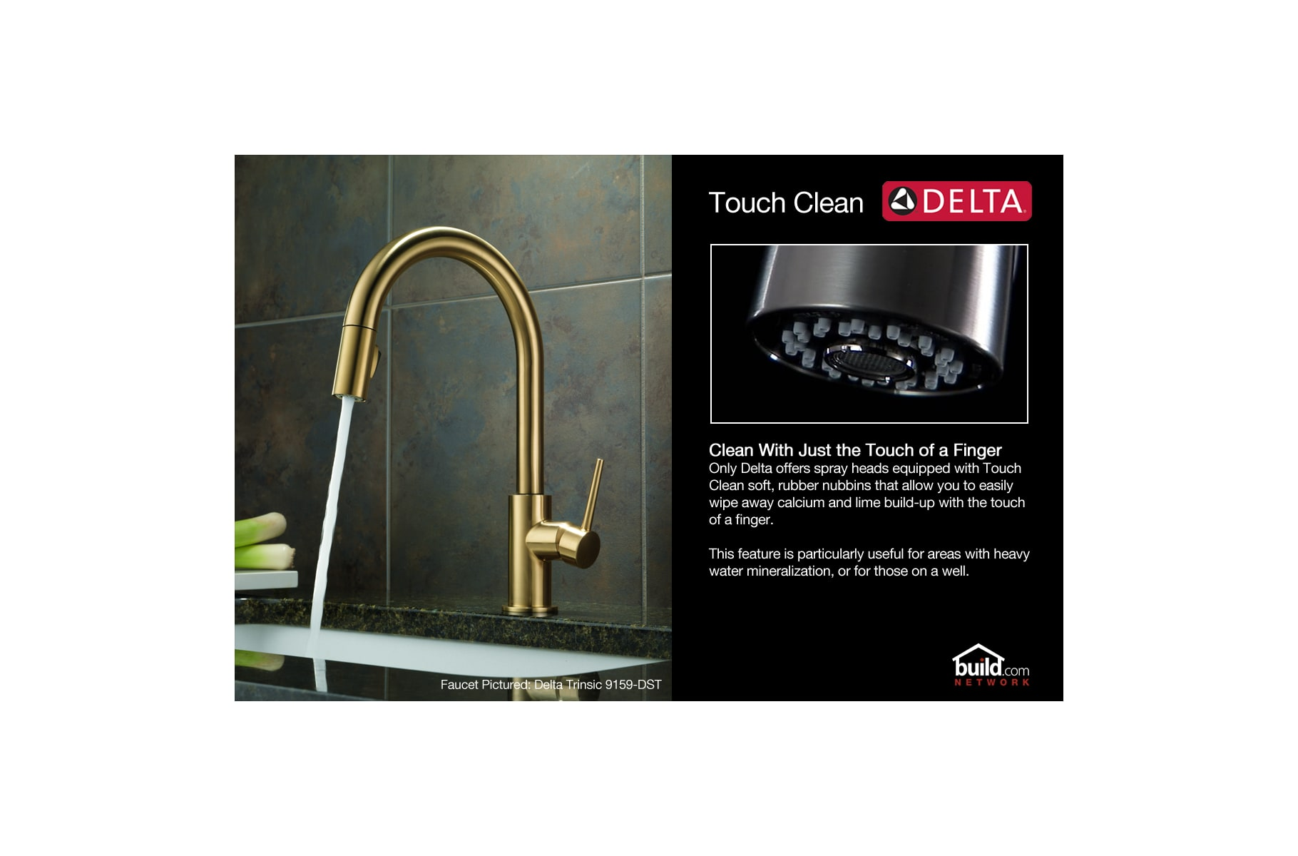 Delta 16926-SD-DST Chrome Lewiston Pullout Spray Kitchen Faucet with ...