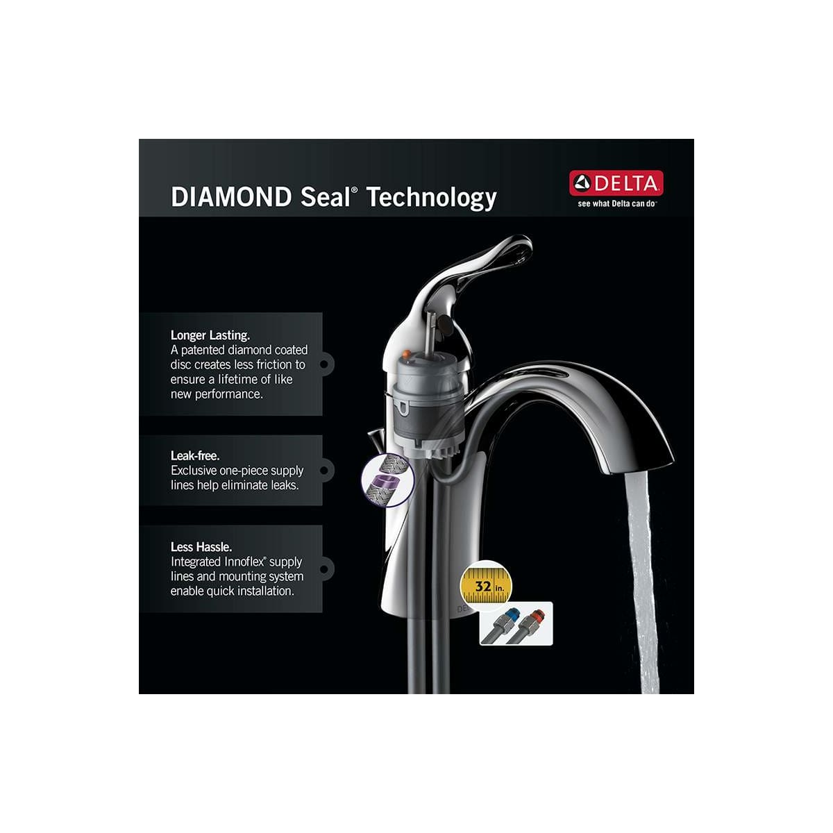 Delta 1914-AR-DST Arctic Stainless Cold Only Beverage Faucet works ...