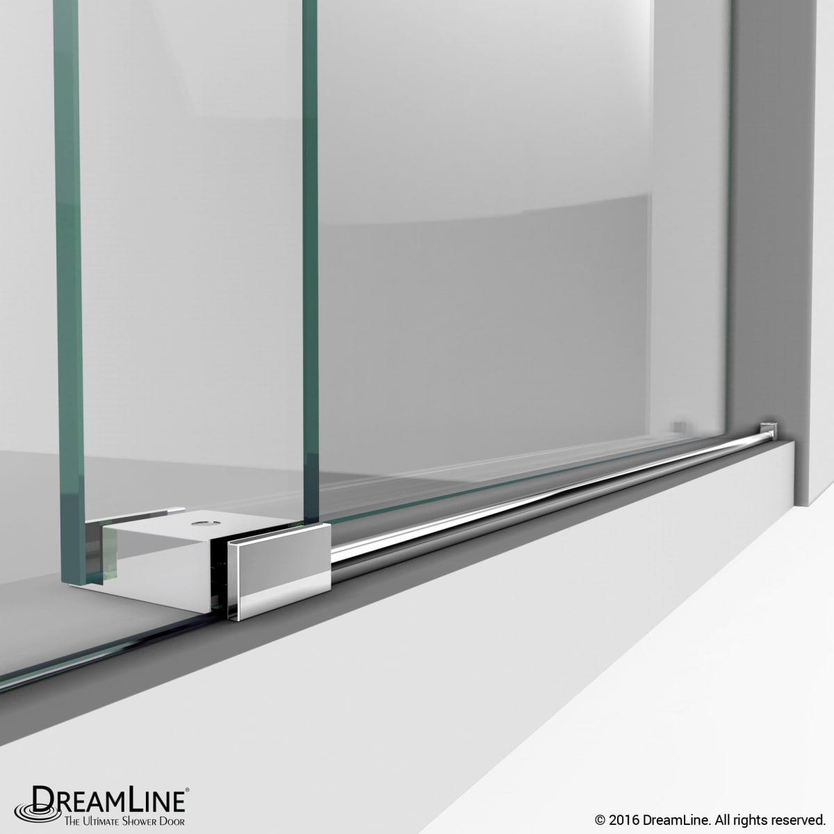 Dreamline Shdr 61487610 07 Brushed Stainless Steel Enigma X 76 High