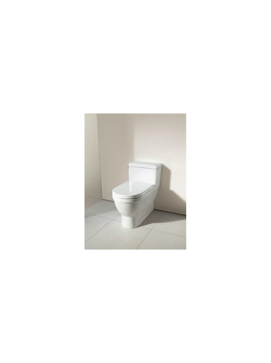 Duravit 0063320000 White Starck 3 Elongated Toilet Seat ...