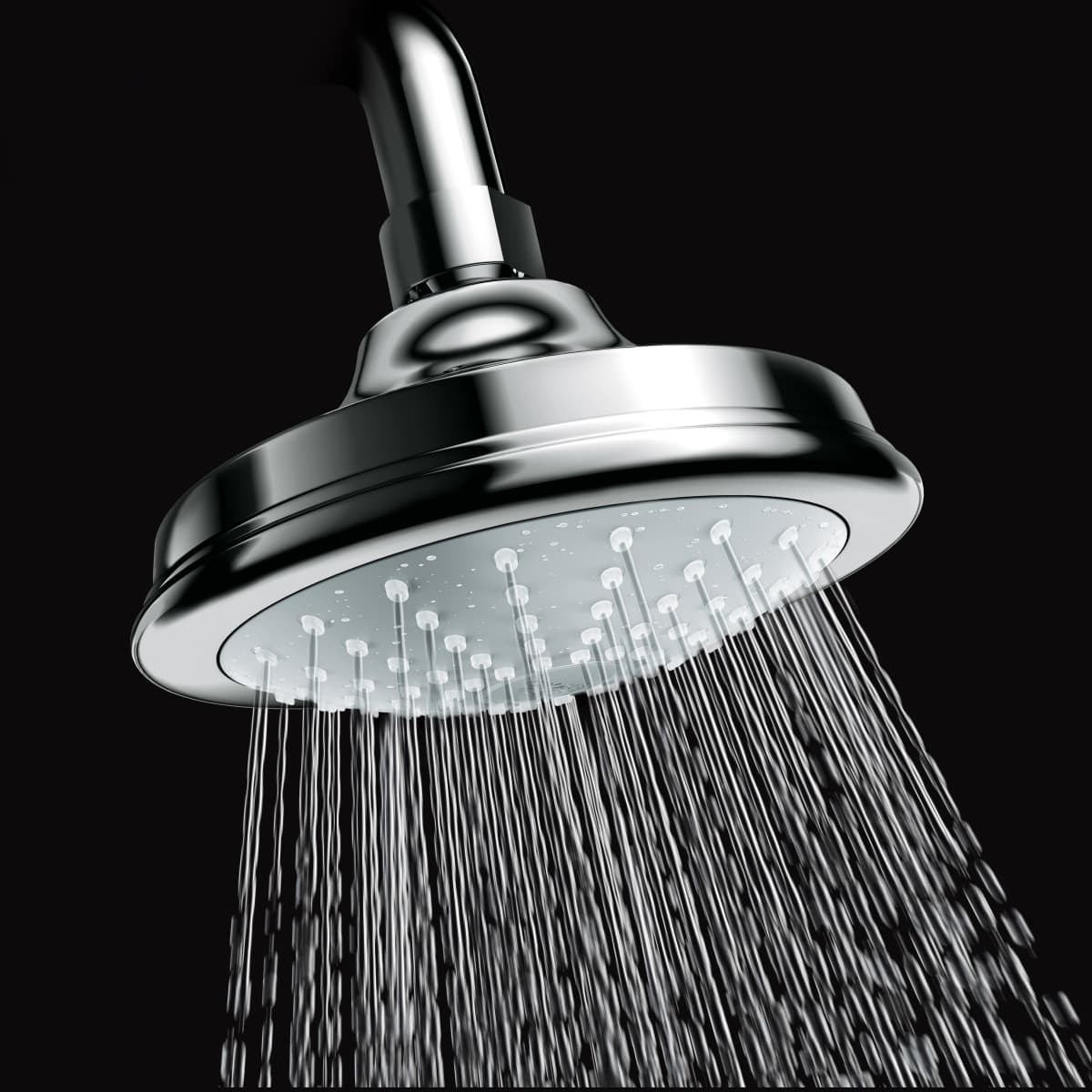 Grohe 27811000 Starlight Chrome Euphoria Rustic 5 Shower Head With Dreamspray Technology 2 0 Gpm Faucetdirect Com