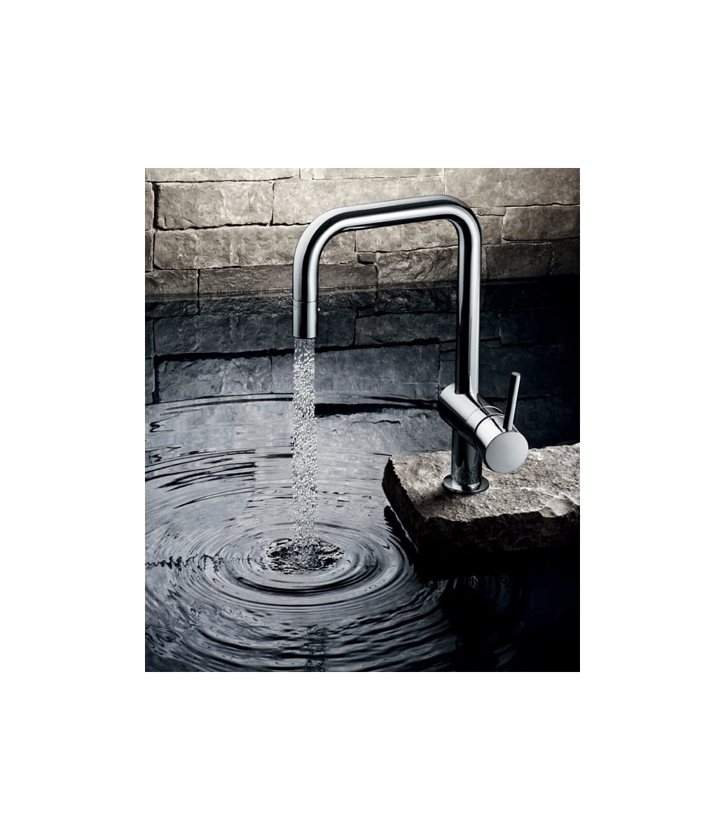 Grohe 32319000 Starlight Chrome Minta Pull-Down Kitchen Faucet with ...