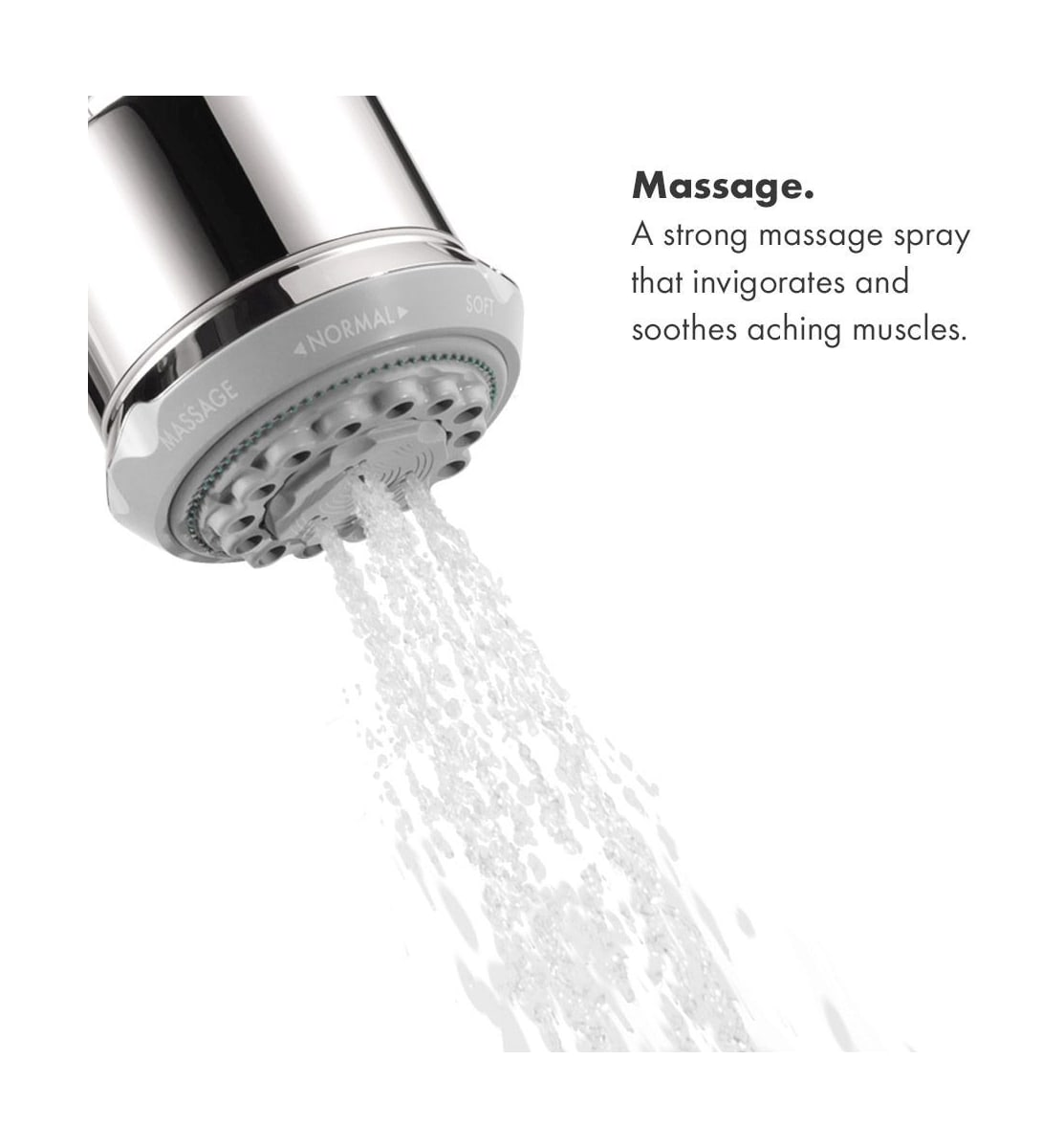 Hansgrohe 28496001 Chrome Clubmaster Multi Function 2 5 Gpm