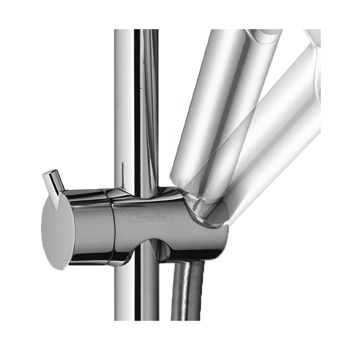 Hansgrohe 04530000 Chrome Croma Pressure Balanced Showerpipe with ...