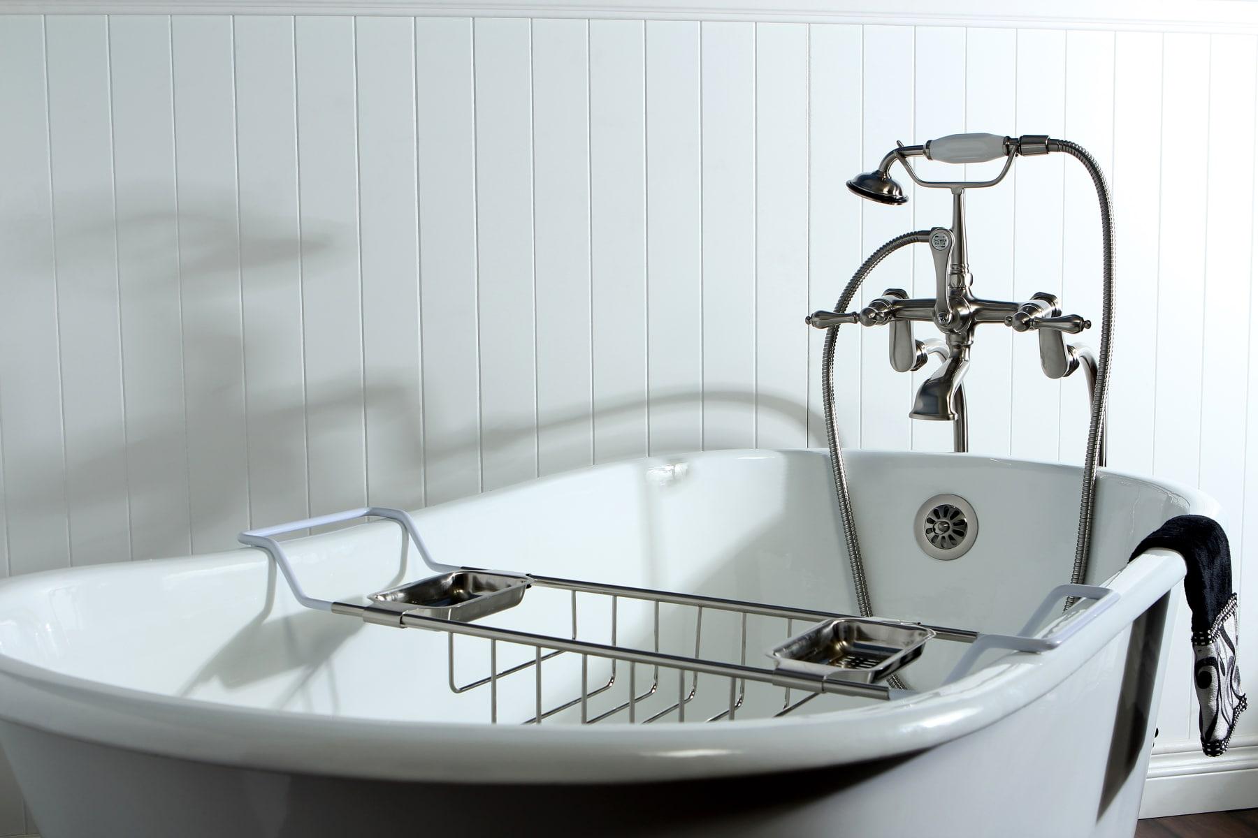 Kingston Brass CC2155 Vintage Claw Foot Bath Tub Shelf Oil Rubbed Bronze 26