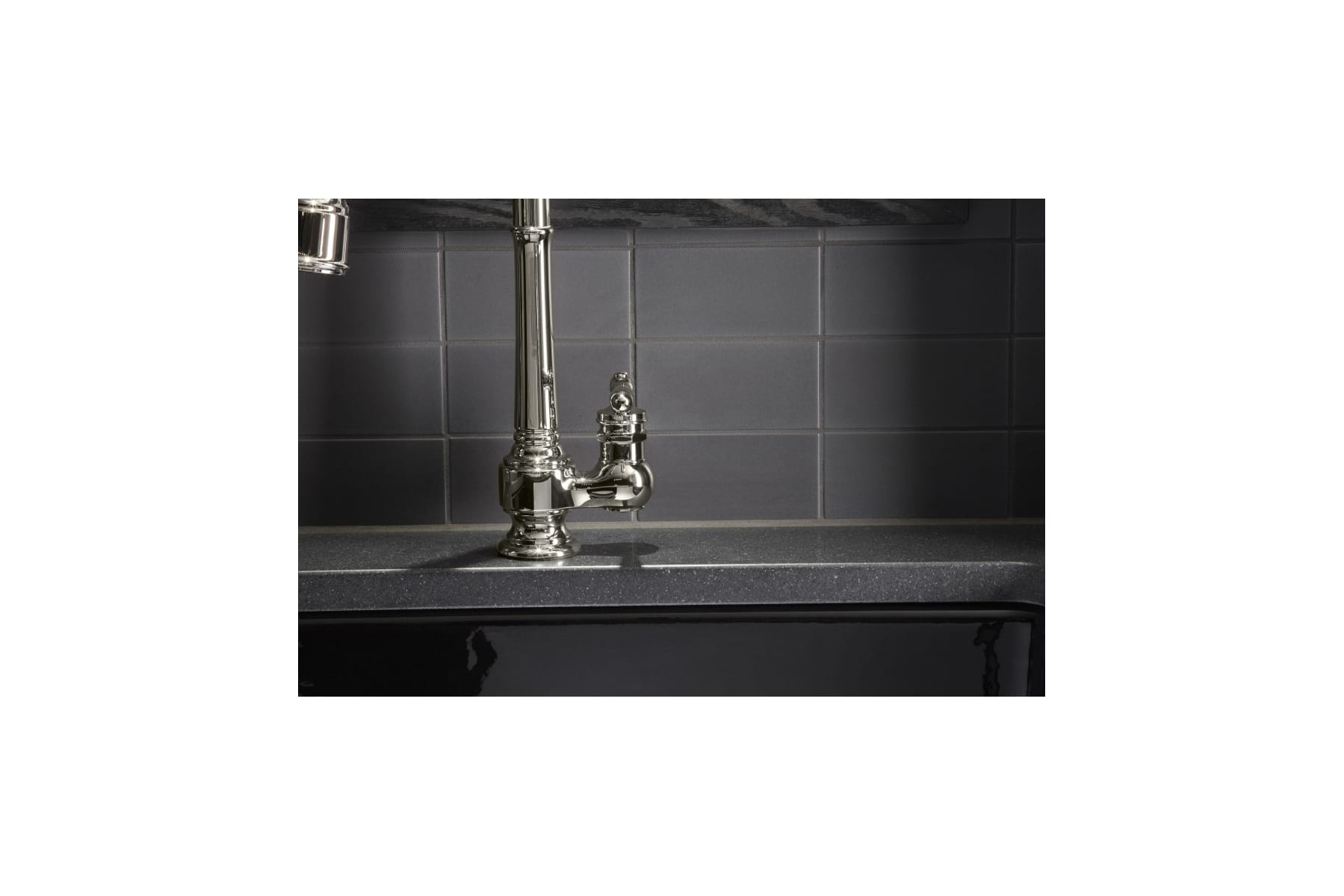 Kohler K-99260-VS Vibrant Stainless Artifacts Pullout Spray Kitchen ...