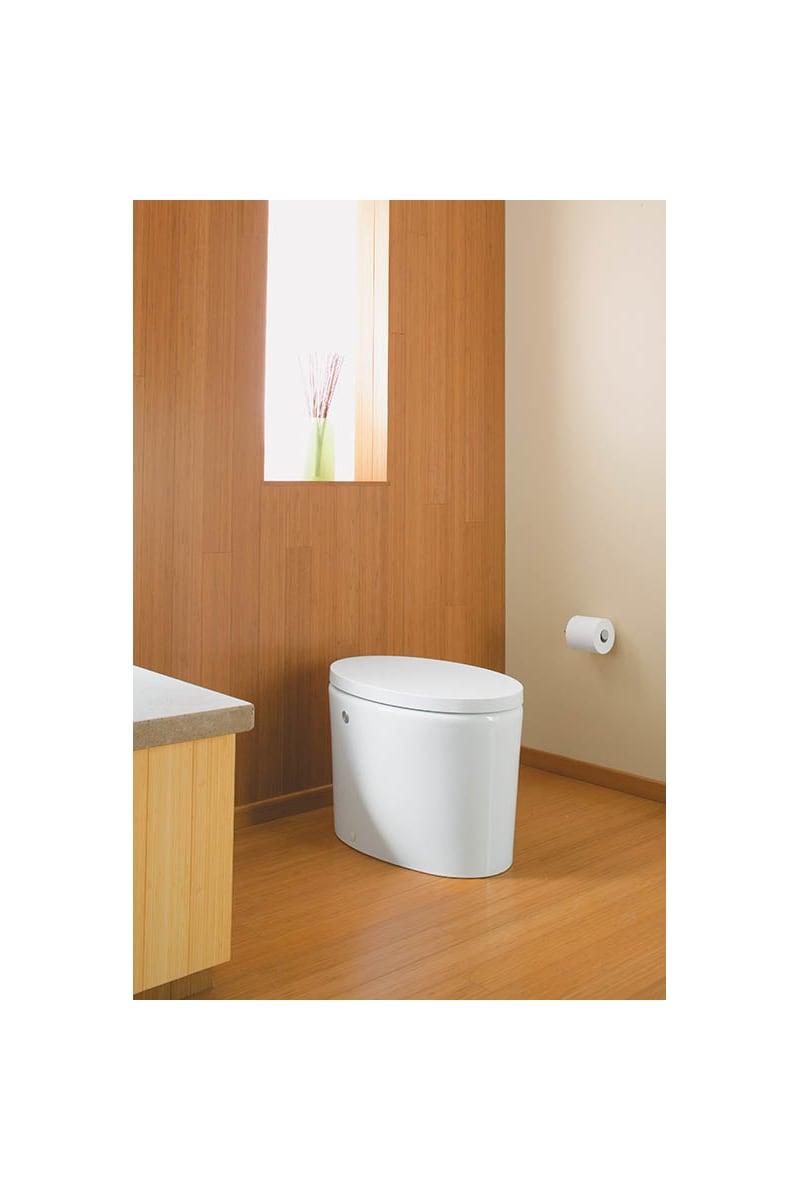 Kohler K-3492-0 White Purist Hatbox toilet with Quiet-Close toilet ...