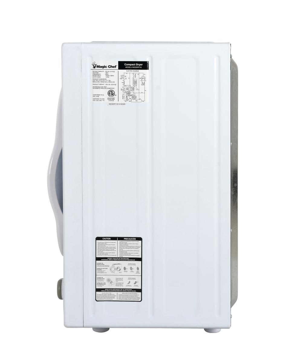 Magic Chef Dryers Laundry Appliances Mcsdry1