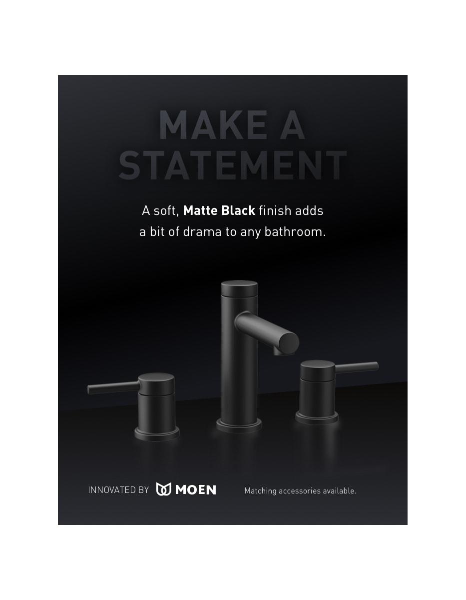 Moen T6193 Chrome Align 1.2 GPM Widespread Bathroom Faucet - Faucet.com