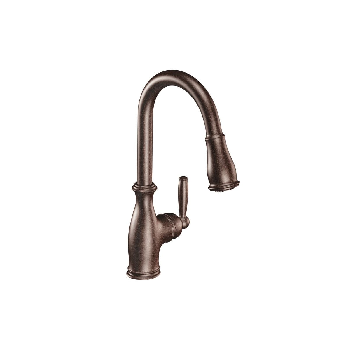 Moen 7185csl Classic Stainless Brantford Single Handle Pulldown Spray Kitchen Faucet With Reflex Technology Faucet Com