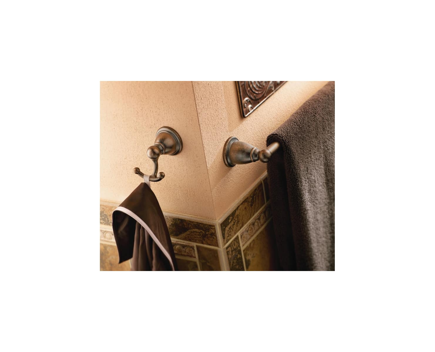 Brushed Nickel Moen CSIYB2203BN Robe Hook from the Brantford Collection