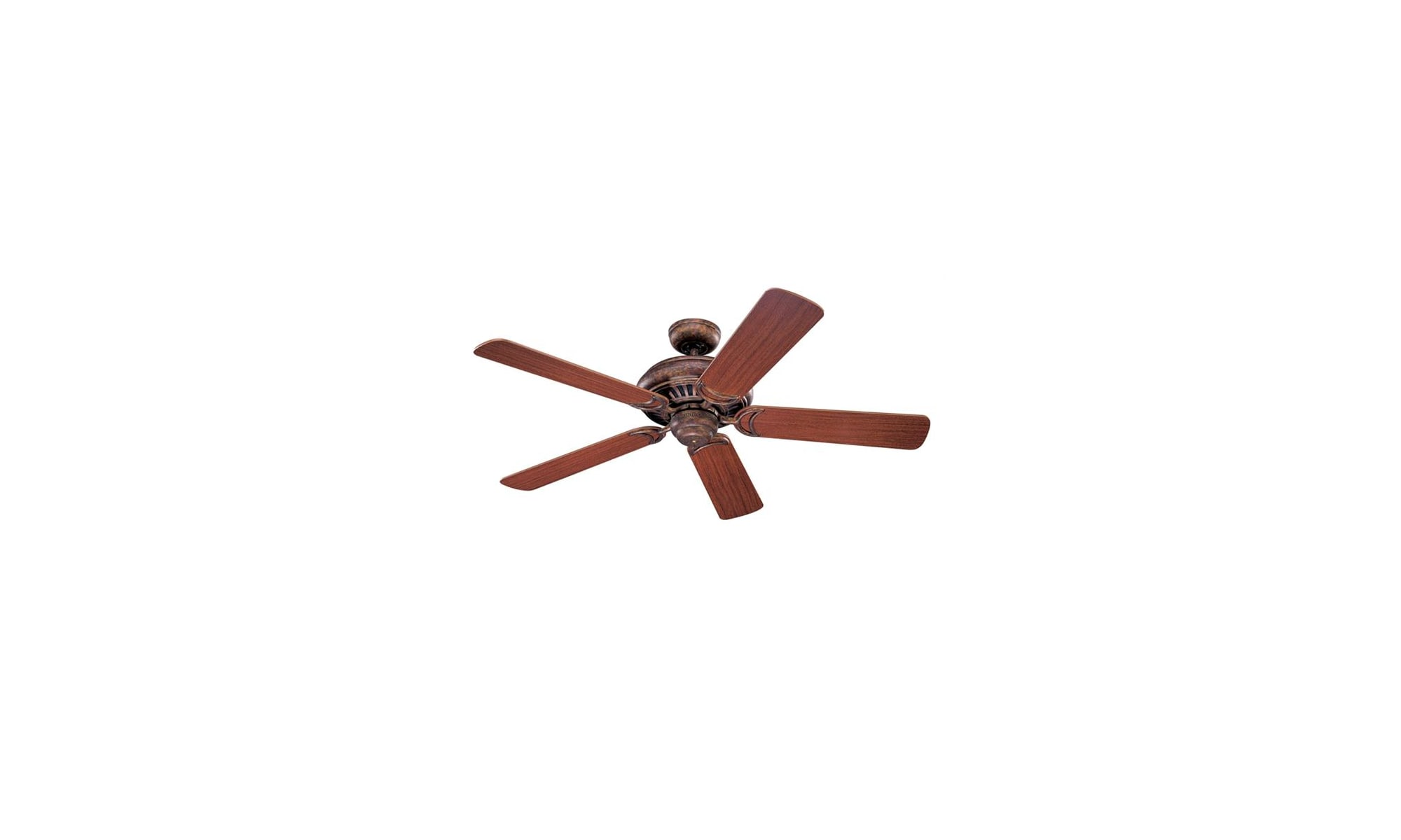 Monte Carlo Undefined Brushed Steel Five Blade 52 Indoor Ceiling Fan With Included Light Kit And Remote From The Light Cast Collection Lightingdirect Com