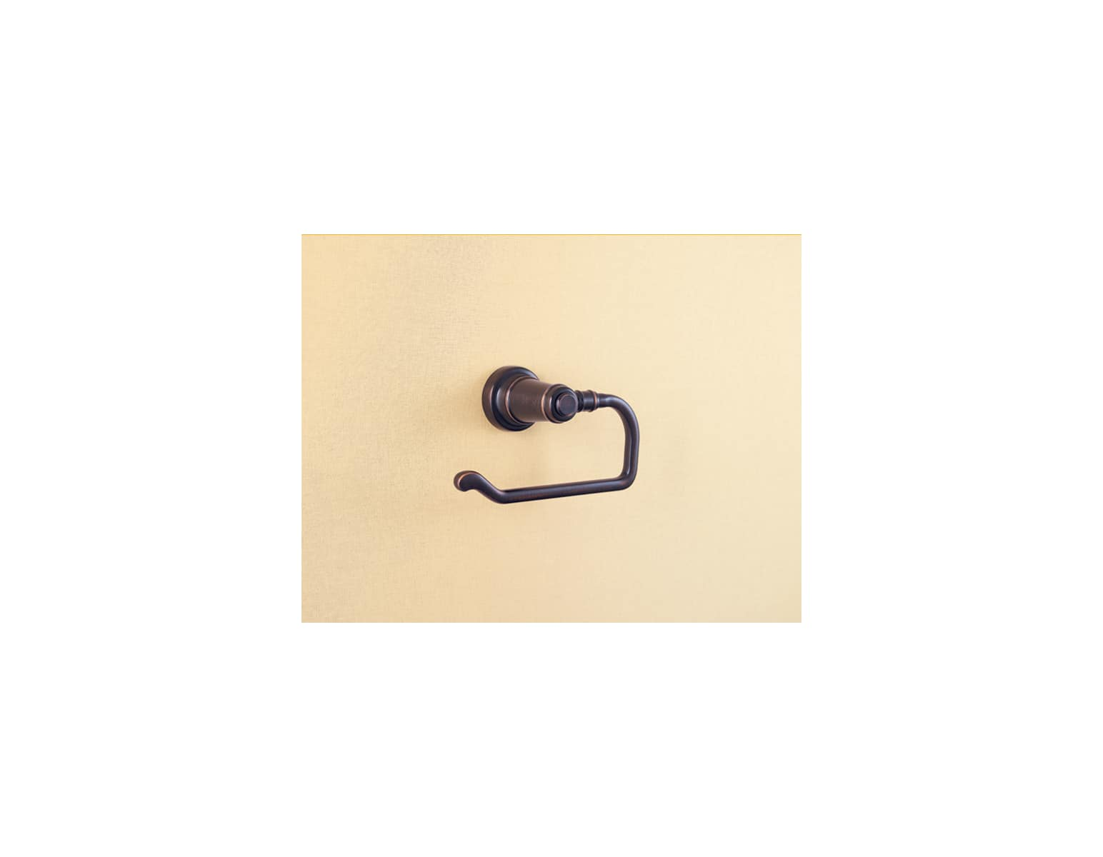 Pfister BPH-YP1U Ashfield Single Post Toilet Paper Holder in Rustic Bronze