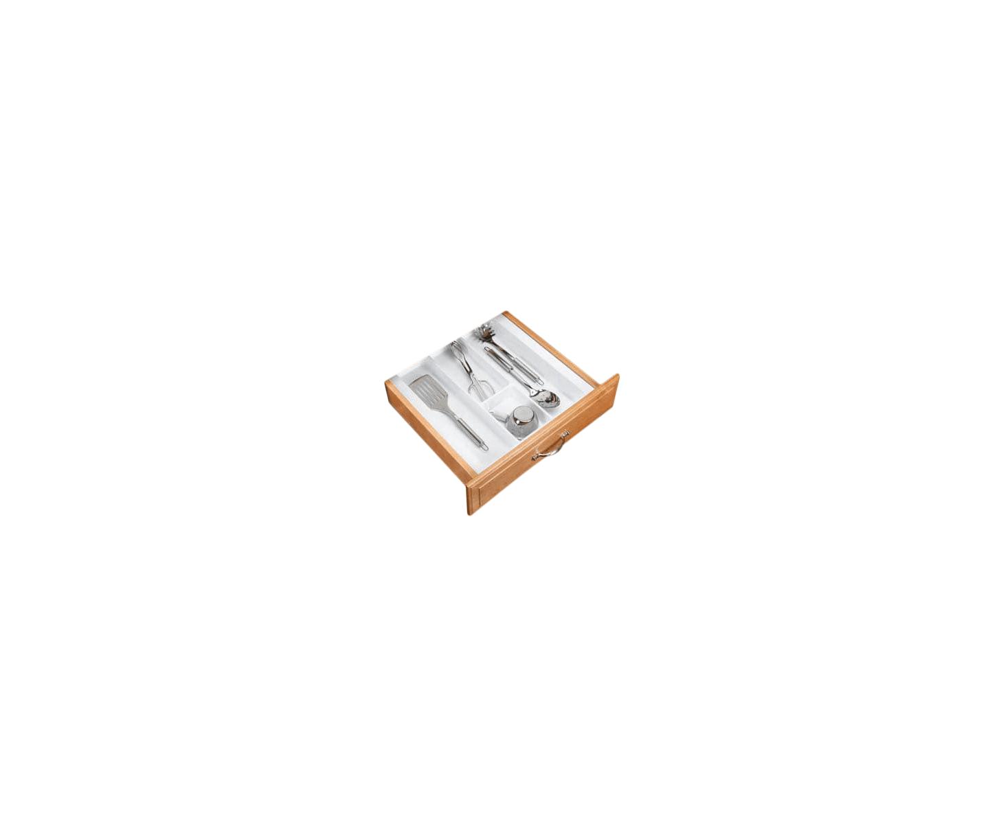 Rev-A-Shelf UT-15W-52 White UT Series 17-1/2 Inch Wide Trimmable