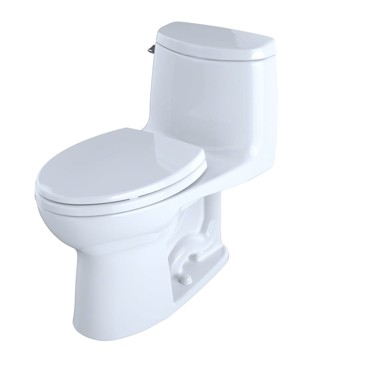 Toto MS604114CEFG#11 Colonial White Ultramax II One Piece Elongated ...
