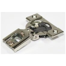 COMPACT 1/2 Inch Overlay Concealed European Screw On Cabinet Door Hinge  With 105