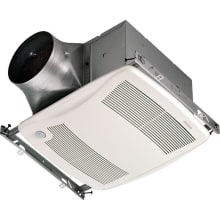 110 CFM 0.3 Sone Ceiling Mounted Energy Star Rated And HVI Certified  Multi Speed Bath