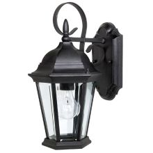 French country outdoor lighting great prices lightingdirect carriage house 1 light outdoor wall sconce capital lighting 9726 aloadofball Images