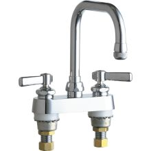 Commercial Grade Laundry Service Sink Faucet With Lever Handles