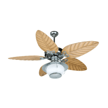 Nautical ceiling fans free shipping lightingdirect indoor outdoor patio fan 54 5 blade indoor outdoor ceiling fan blades aloadofball Choice Image