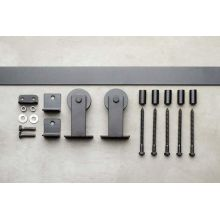3000 Series 72 Inch Low Profile Top Mount Barn Door Hardware · Delaney BD306