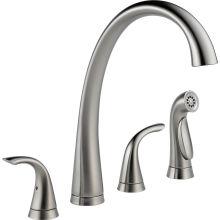Merveilleux Pilar Kitchen Faucet With Side Spray   Includes Lifetime Warranty