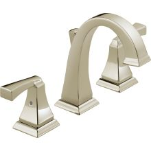 Dryden Widespread Bathroom Faucet With Metal Drain Assembly   Limited  Lifetime Warranty. Delta 3551LF