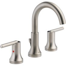 handle spotshield rila sp sink faucets centerset single faucet nickel bathroom p in delta brushed