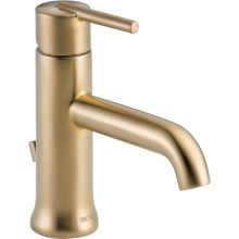 Trinsic 1.2 GPM Single Hole Bathroom Faucet With Metal Pop Up Drain  Assembly   Limited