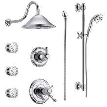 Tempure 17t Series Thermostatic Shower System With Integrated Volume Control Head 3 Body