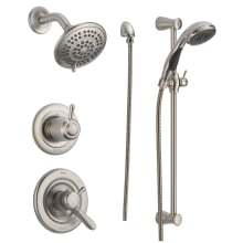 Monitor 17 Series Dual Function Pressure Balanced Shower System With Integrated Volume Control Head