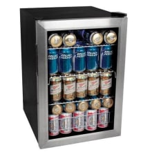 17 Inch Wide 84 Can Beverage Cooler With Extreme Cool Bwc90 Edgestar