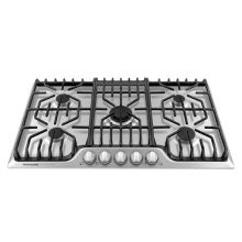36 Inch Wide Gas Cooktop with PowerPlus Burner and Griddle