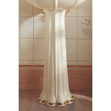 Prairie Flowers Design On Anatole Lavatory Pedestal