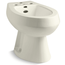 San Tropez Vertical Spray Bidet with 4 Faucet Holes