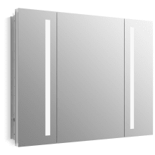 Verdera 40 X 30 Single Door Frameless Medicine Cabinet With Integrated Led Lighting And