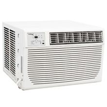 12000 btu 208230v window air conditioner with 11000 btu heater and remote - Air Conditioner And Heater