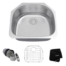Specialty shaped kitchen sinks 23 38 single basin 16 gauge stainless steel kitchen sink for undermount workwithnaturefo