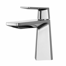 Single Hole Bathroom Faucet With Metal Drain Embly From The Aplos Collection