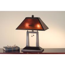Craftsman / Mission Table Lamp from the Bungalow Collection