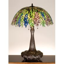 Stained Glass / Tiffany Table Lamp from the Honey Locust Collection